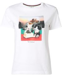 PS by Paul Smith - Dog And Bone T-shirt - Lyst