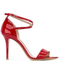 Armani - Ankle Strap Sandals - Lyst