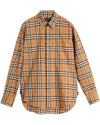 Burberry - Rainbow Vintage Check Shirt - Lyst