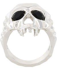 Kasun - Skull Ring - Lyst