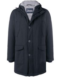 Herno - Hooded Padded Coat - Lyst