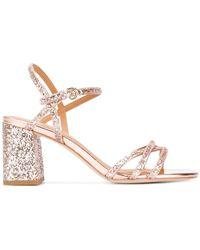 Ash - Strappy Glitter Sandals - Lyst