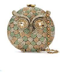 Isla - Coruja Crystal Embellished Clutch Bag - Lyst