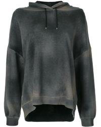 Avant Toi - Hooded Sweatshirt - Lyst