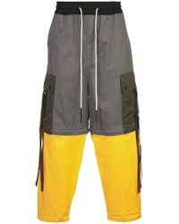 Mostly Heard Rarely Seen - Colour-block Trousers - Lyst