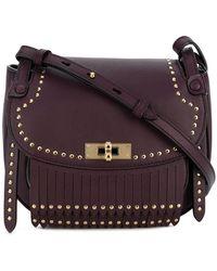 Bally - Studded Saddle Bag - Lyst
