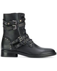 Trussardi - Side Zip Boots - Lyst