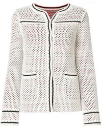 Charlott - Fitted Perforated Jacket - Lyst