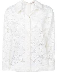 Dorothee Schumacher - Floral Pattern Shirt Jacket - Lyst