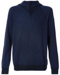 Vince - Knitted Hood Jumper - Lyst