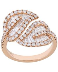 Anita Ko - Large Leaf Ring - Lyst