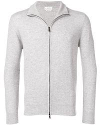 Ballantyne - Front Zipped Cardigan - Lyst