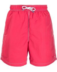 Hackett - Solid Volley Swimming Shorts - Lyst