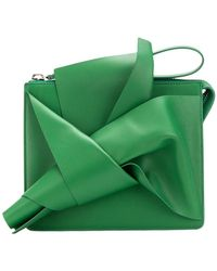 N°21 - Abstract Bow Clutch Bag - Lyst