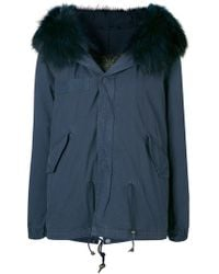 Mr & Mrs Italy - Trimmed Hooded Parka - Lyst
