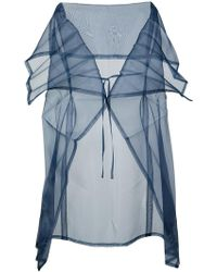 132 5. Issey Miyake - Pleated Stole - Lyst