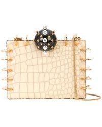 Tonya Hawkes - Embellished Box Clutch - Lyst