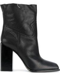 Saint Laurent - Jodie 105 Western Ankle Boots - Lyst