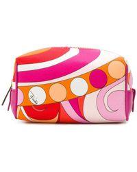 Emilio Pucci - Printed Make Up Bag - Lyst