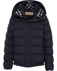 Burberry - Detachable-sleeve Down-filled Hooded Puffer Jacket - Lyst