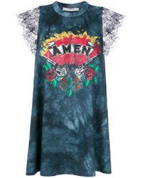 Amen - Printed Tie Dye Top - Lyst