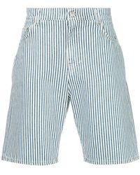 Cerruti 1881 - Striped Style Shorts - Lyst