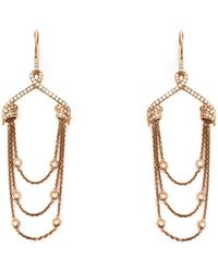 Stephen Webster - Draped Diamond Earrings - Lyst