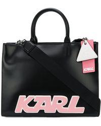 Karl Lagerfeld - Karl Logo Tote - Lyst