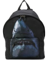 Givenchy - Shark Print Backpack - Lyst