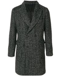 Dell'Oglio - Long Sleeved Tailored Coat - Lyst