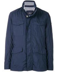 Hackett - Zipped Fitted Jacket - Lyst