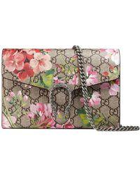 Gucci - GG Blooms Dionysus Wallet Bag - Lyst