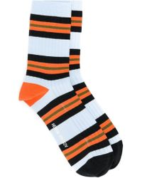Henrik Vibskov - Striped Socks - Lyst