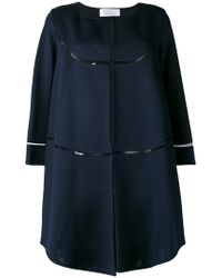 Gianluca Capannolo - Cropped Sleeve Coat - Lyst