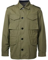 Kent & Curwen - Detachable Quilted Military Jacket - Lyst
