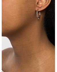 Rachel Jackson - Punk Hoop Earrings - Lyst