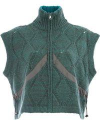 AALTO - Zipped Knit Vest - Lyst