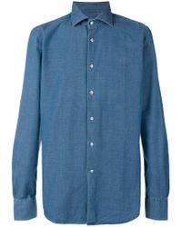 Glanshirt - Slim-fit Shirt - Lyst