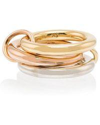 Spinelli Kilcollin - 18kt Gold 3 Link Ring - Lyst