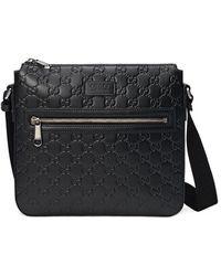 37d215124ed Men S Messenger Bags Gucci Com Men Bags Gucci Bengal Gg Supreme ...