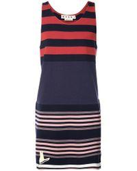 Marni - Striped Tank Sweatshirt - Lyst