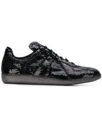 Maison Margiela - Sequin-embellished Trainers - Lyst