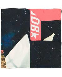 Golden Goose Deluxe Brand - Printed Scarf - Lyst