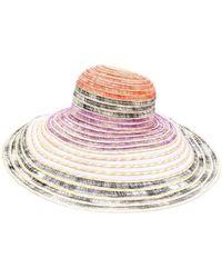 Missoni - Colour Block Sun Hat - Lyst