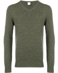 Aspesi - V-neck Pullover - Lyst