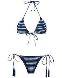 Brigitte Bardot - Tati Tanga Julia Triangle Bikini Set - Lyst