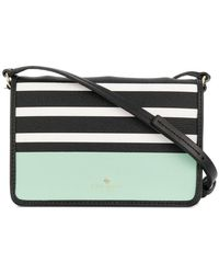 Kate Spade - Stripe And Colour Block Shoulder Bag - Lyst