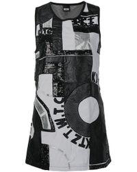 e13f02ff857d KTZ - Patchwork Mini Dress - Lyst