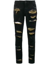 Filles A Papa - - 'brooklyn' Jeans - Women - Cotton/lurex/polyester - 3 - Lyst
