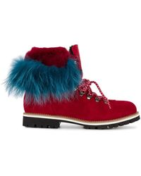 Mr & Mrs Italy - Rabbit Fur Lined Boots - Lyst